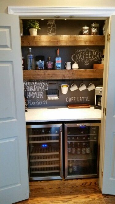 30 Stylish Home Coffee Bar Ideas Stunning Pictures Included Cats And Canines Coffee Blog