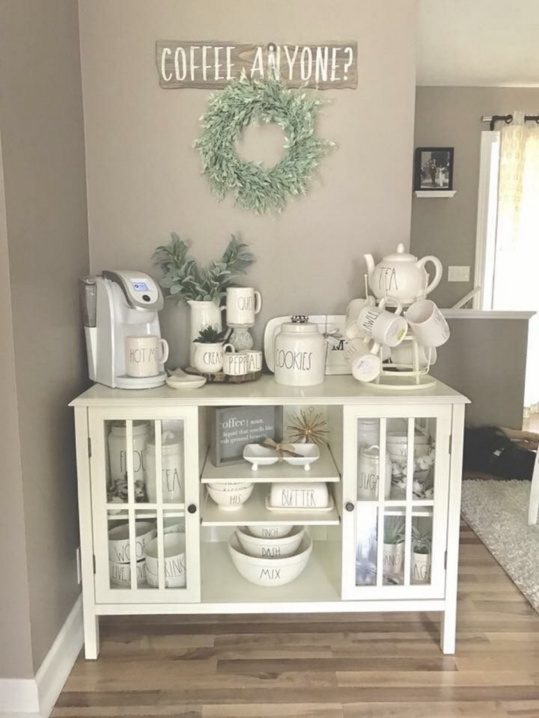 30 Stylish Home Coffee Bar Ideas Stunning Pictures